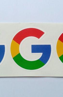 Stiker Google Logo - Vinyl Cut 1