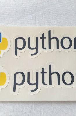 Stiker Python - Vinyl 1