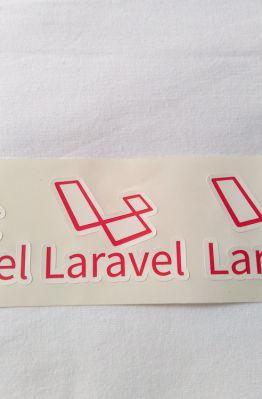 Stiker Laravel - Vinyl 1