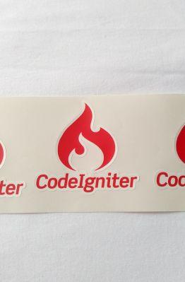 Stiker Codeigniter - Vinyl 1