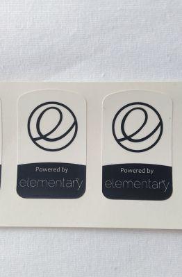 Stiker Badge Elementary 1
