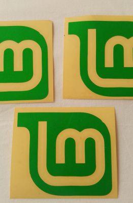 Stiker Cutting Linux Mint 1