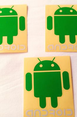 Stiker Cutting Android 1