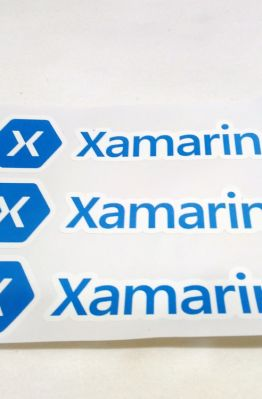 Stiker Xamarin - Vinyl 1