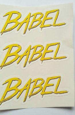 Stiker Babel - Vinyl Cut 1