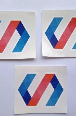 Stiker Polymer - Vinyl Cut 1