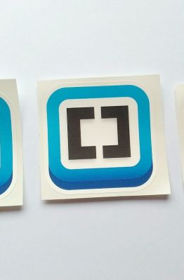 Stiker Brackets - Vinyl Cut 1