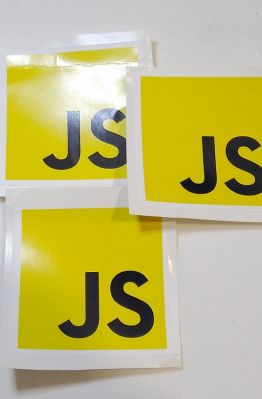 Stiker Javascript - Vinyl 1