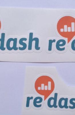 Stiker Redash - Vinyl Cut 1