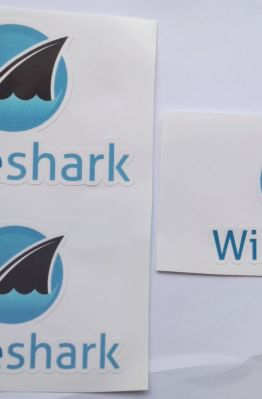 Stiker Wireshark - Vinyl Cut 1