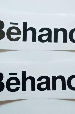 Stiker Behance - Vinyl Cut 1