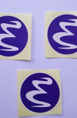 Stiker Emacs - Vinyl 1