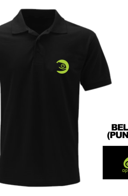 [PRE ORDER] Polo Open Suse - LinuxGeekers 1