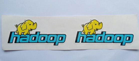 Stiker Hadoop - Vinyl Cut 2