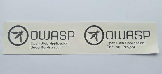 Stiker Owasp - Vinyl Cut 2