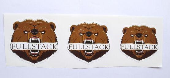 Stiker Fullstack -  Vinyl Cut 2