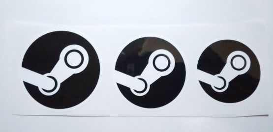 Stiker Steam - Vinyl Cut 2