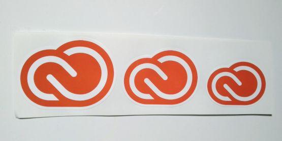Stiker Creative Cloud - Vinyl Cut 2