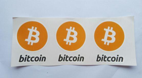 Stiker Bitcoin  - Vinyl Cut 2