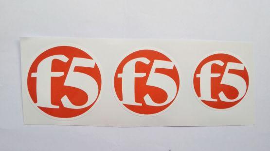Stiker F5 - Vinyl Cut 2