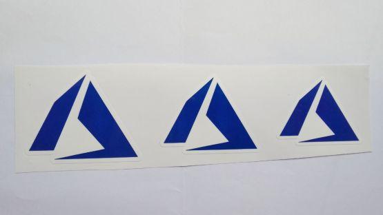 Stiker Azure - Vinyl Cut 2