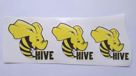 Stiker Apache Hive - Vinyl Cut 2