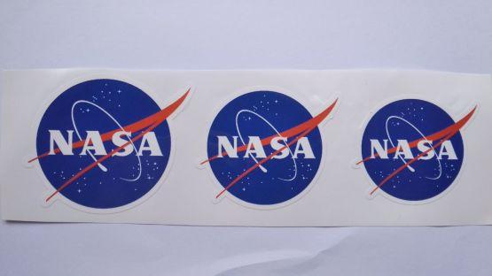 Stiker NASA - Vinyl Cut 2