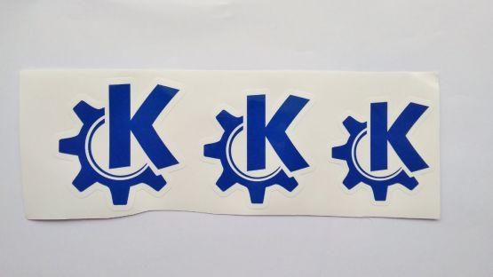 Stiker KDE -  Vinyl Cut 2