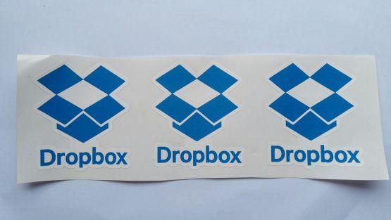 Stiker Dropbox - Vinyl Cut 2