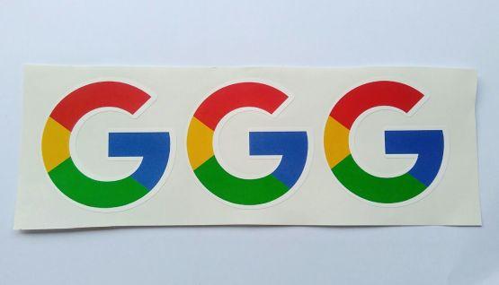 Stiker Google Logo - Vinyl Cut 2