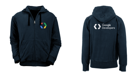 [PRE ORDER] Hoodie Zipper Google Developers 4