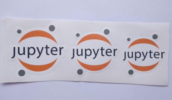 Stiker Jupyter - Vinyl Cut 2