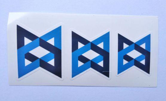 Stiker Backbone-  Vinyl Cut 2