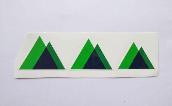 Stiker Nuxt JS-  Vinyl Cut 2