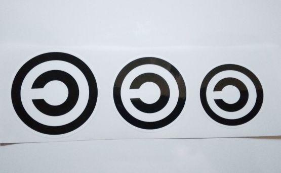Stiker Copyleft - Vinyl Cut 2