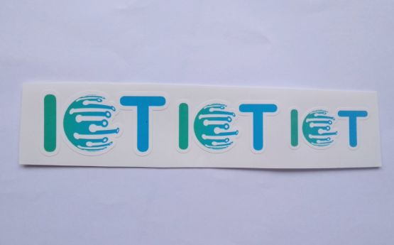 Stiker Internet of Things -  Vinyl Cut 2