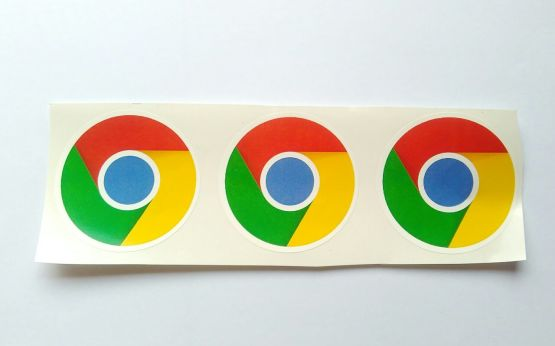 Stiker Chrome - Vinyl Cut 2