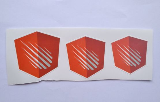 Stiker Angular Meter -  Vinyl Cut 2