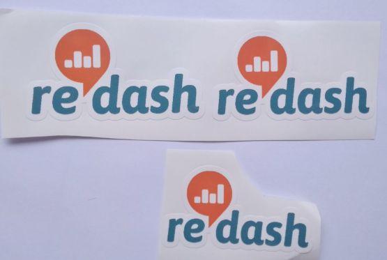 Stiker Redash - Vinyl Cut 2