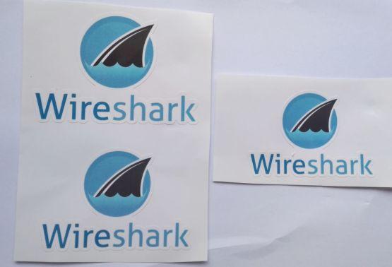 Stiker Wireshark - Vinyl Cut 2