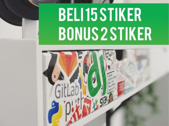 Paket Bundling 15 Stiker - Bonus 2 Stiker 2