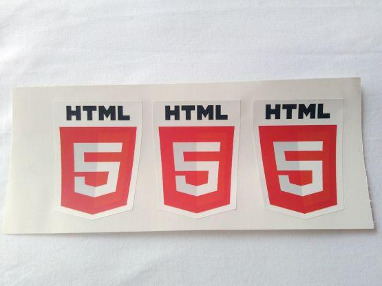 Stiker HTML5 - Vinyl 2