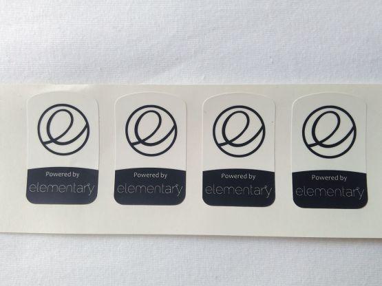 Stiker Badge Elementary 2
