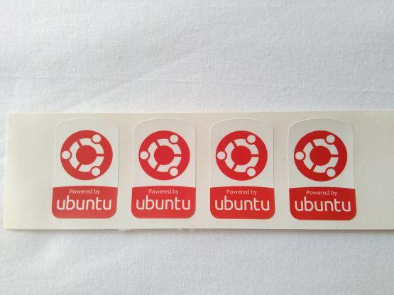 Stiker Badge Ubuntu 2