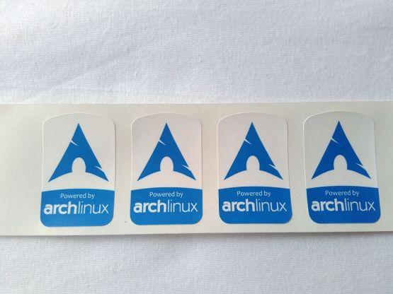Stiker Badge Arch Linux 2