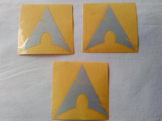 Stiker Cutting Arch Linux 2