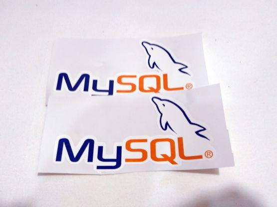 Stiker MySQL - Vinyl 2