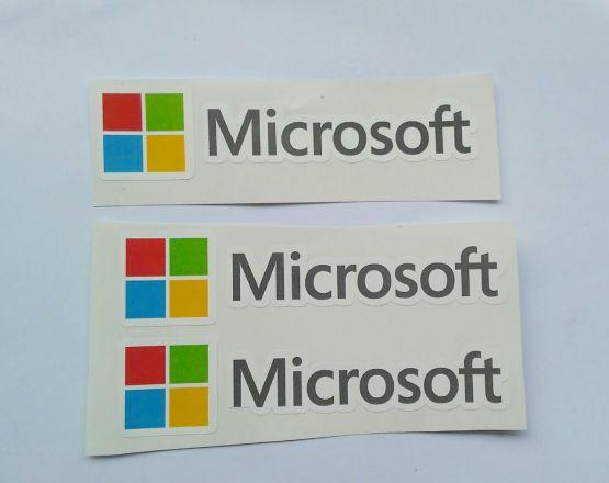 Stiker Microsoft - Vinyl Cut 2