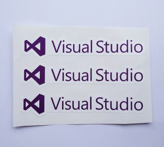 Stiker Visual Studio  - Vinyl Cut 2