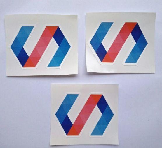 Stiker Polymer - Vinyl Cut 2